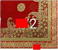 c pallu malti tread embroidery design