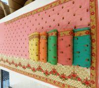 packing saree  dhaga consept
