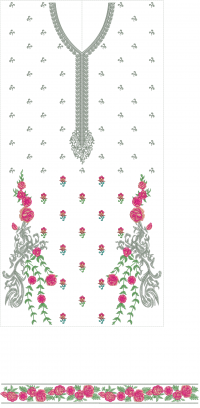 only top embroidery design