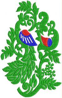 peacok design