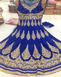anarkali embroidery design