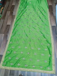 butta saree embroidery design