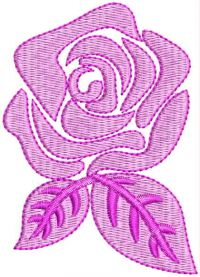 rose flower design