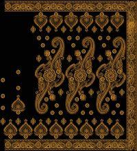 kalkatti saree with lace-