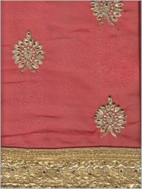 Pallu scat saree embroidery design