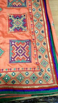 Dhaga Test C Pallu embroidery design