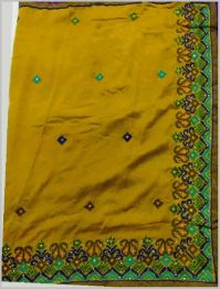 Dhaga Test L Pallu saree embroidery design