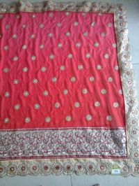 Cat Peast Saree embroidery design