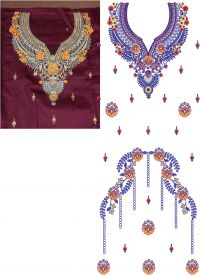 SUIT  EMBRODERY DESIGN +250