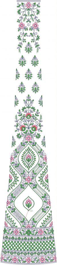 new concept cording sequin lehengha embroidery design