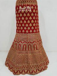 bridal lehengha  cording embroidery design