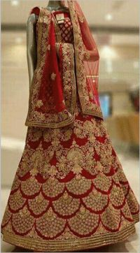 Bridal lehengha choli embroidery design