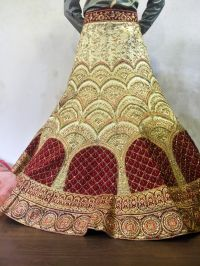 LEHENGHA EMBROIDERY DESIGN