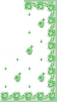 c pallu,skirt embroidery design