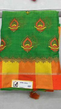 kasmira saree embroidery design