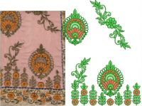 PANEL BUTTA PALLU SAREE AMBROIDERY DESIGN