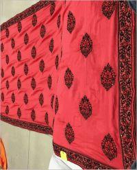 butta saree embroidery design