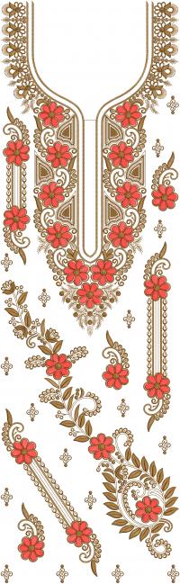 suite embroidery design