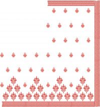 Bollywood Saree embroidery design