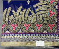 Dhaga Diamond Test C Pallu saree embroidery design