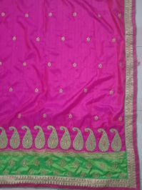 Penal Concept Saree embroidery design