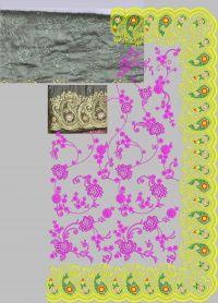 daimond malti embroidery design
