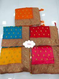 Pallu skirt saree embroidery design