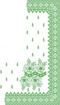 c pallu sirojki daimond saree embroidery design