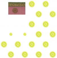 pallu scat sarre seq. less embroidery design