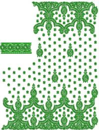 KALKATTI SAREE EMBROIDERY DESIGN