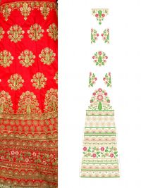 Lehengha Full set Embroidery Designs