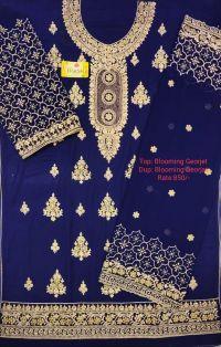 panel top design embroidary design