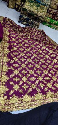 daimond malti saree embroidery  design