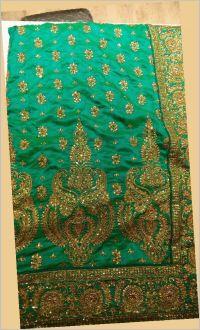 Daymond Test Saree embroidery design