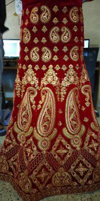 lehenga kali embroidery design