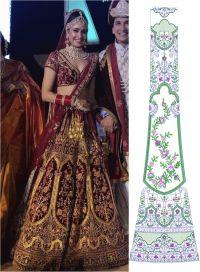 new bridel lehenghacholi