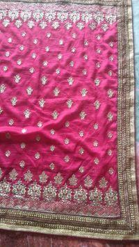 Vichitra Pallu Saree embroidery design