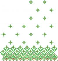 Pallu   saree  embroidery design