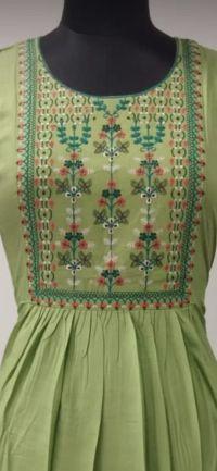 kurti embroidery design