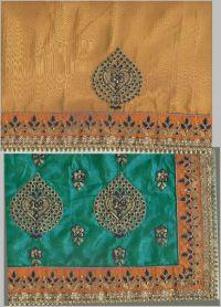 panel sarees design