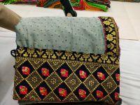 penal saree embroidery design