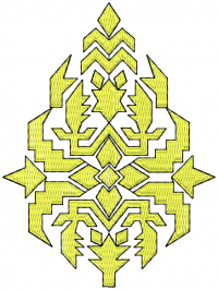 tatami butto embroidery design