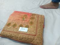 new c pallu saree embroidery design