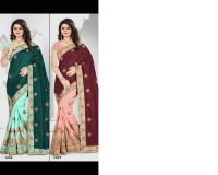 patali pallu saree embroidery design