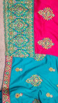 savriya saree embroidery design