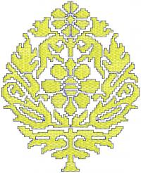 tatami butto embroidery design