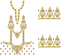 suit plazo embroidery design