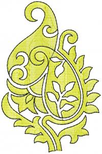 tatami butta embroidery design
