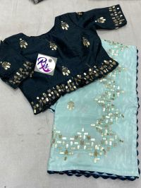 5 mm saree & blouse