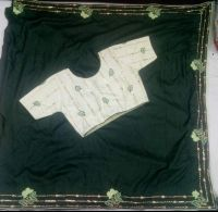 5 mm saree lace blouse pallu